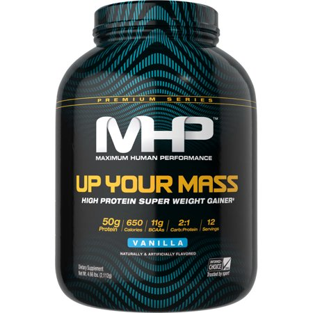 MHP Up Your Mass - 5LBS Vanilla (Weightgainer)