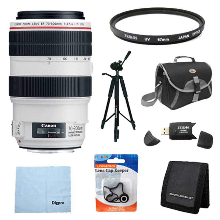 Canon EF 70-300mm f/4-5.6L IS USM UD Telephoto Zoom Lens ...