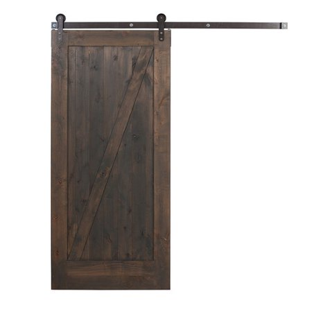 Ironwood Knotty Alder Stained Gray Door Kit