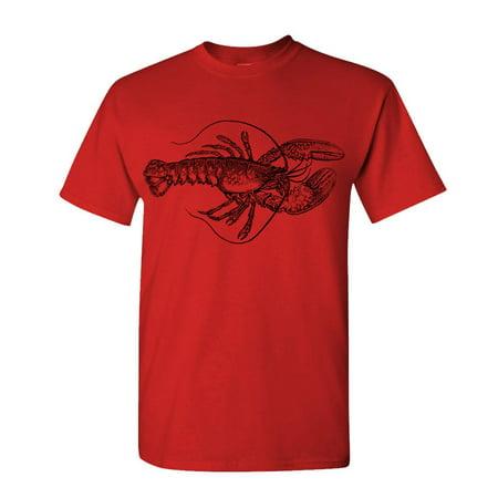 Kramers Lobster Shirt (LOBSTER - vintage hipster style - Cotton Unisex)
