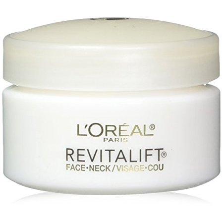 L'Oréal Paris Revitalift Anti-Wrinkle + Firming Face & Neck Cream, 1.7