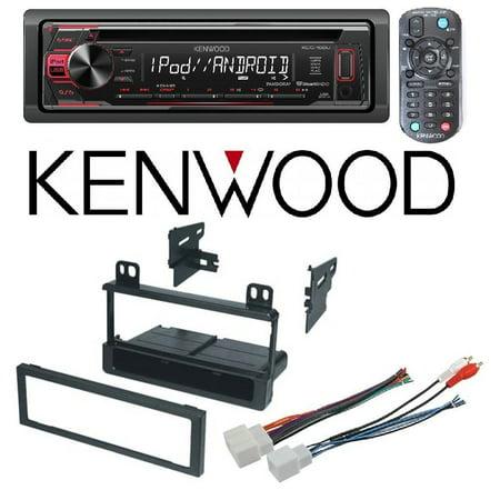 Kenwood KDC-168U CD/MP3/WMA Player Built-in Pandora iHEART Radio Front AUX USB FMK550 Single DIN Dash Kit for 95-08 Ford/Lincoln/Mercury American International Fmk550 Ford Radio