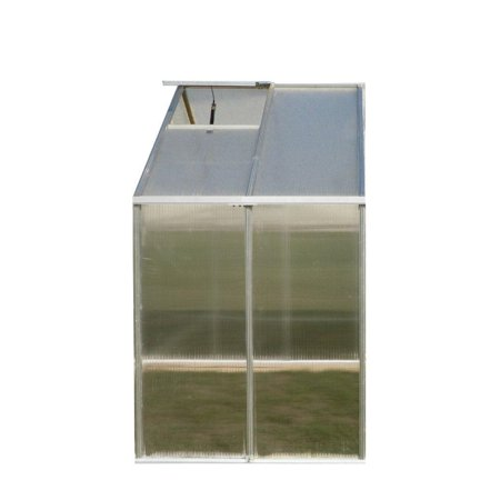 Monticello 8ftx4ft Greenhouse Extension Aluminum