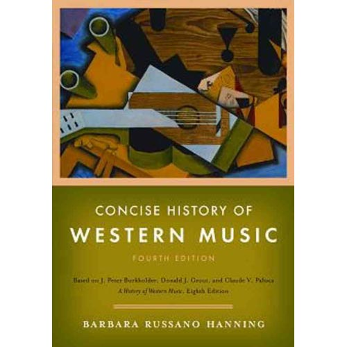 Concise History of Western Music [With Access Code]