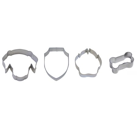 Face Dog Set - Patrol Cookie Cutter Set - Dog Face 3.5