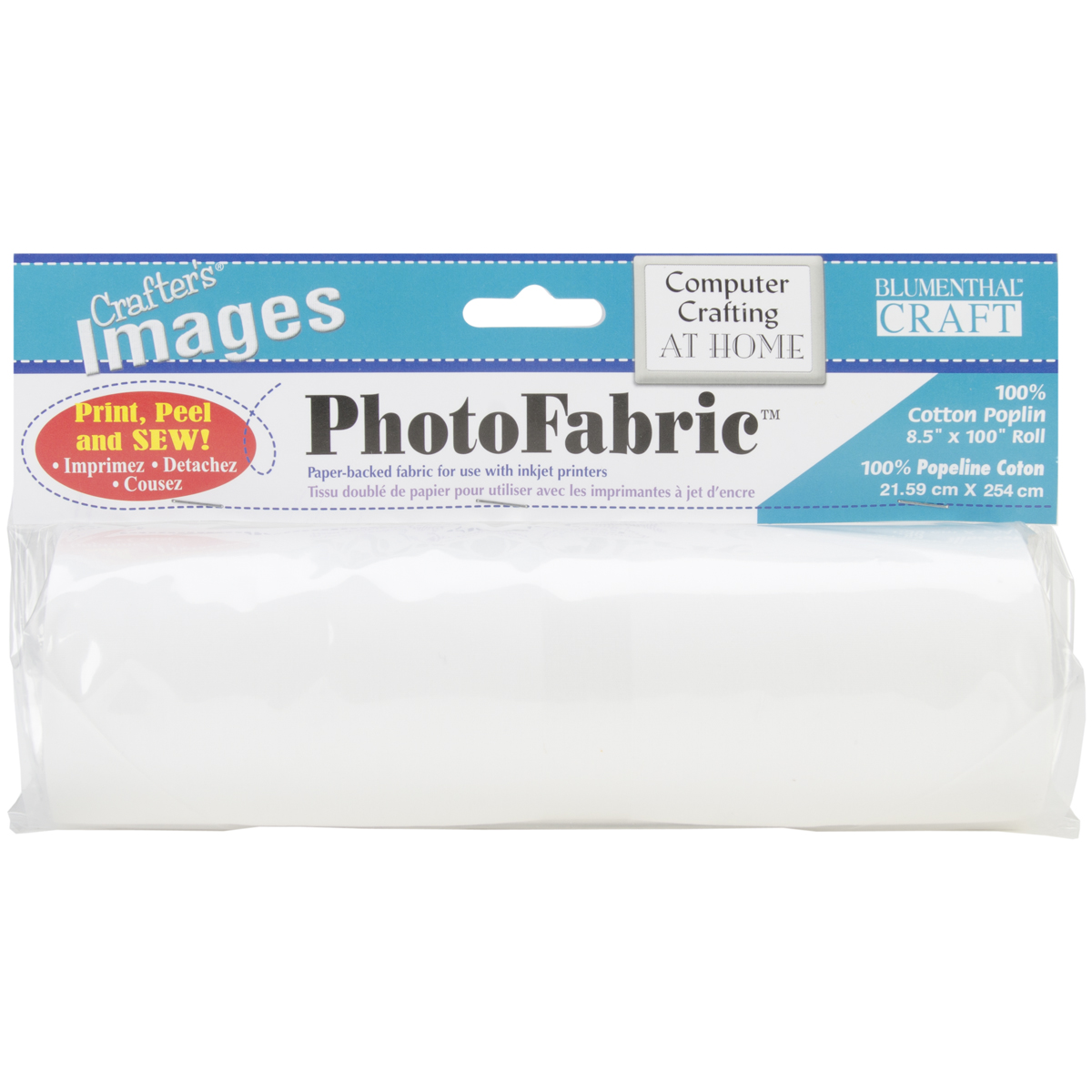 "Crafter's Images PhotoFabric 8.5""X100""-100% Cotton Poplin"