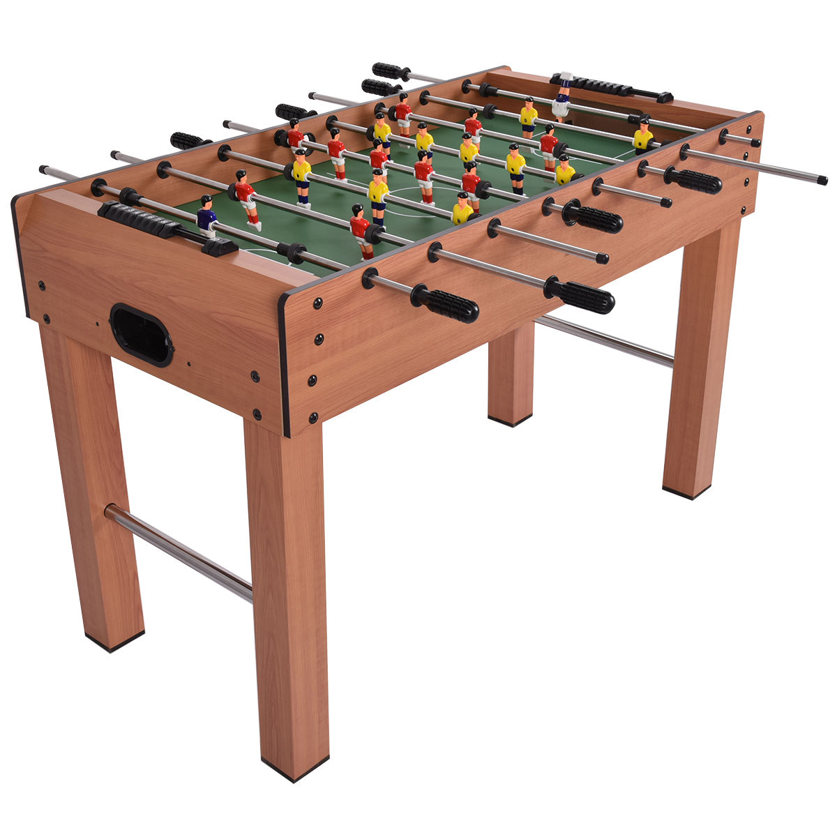 Costway 48u0027u0027 Foosball Table Competition Game Soccer Arcade Sized Football  Sports Indoor   Walmart.com