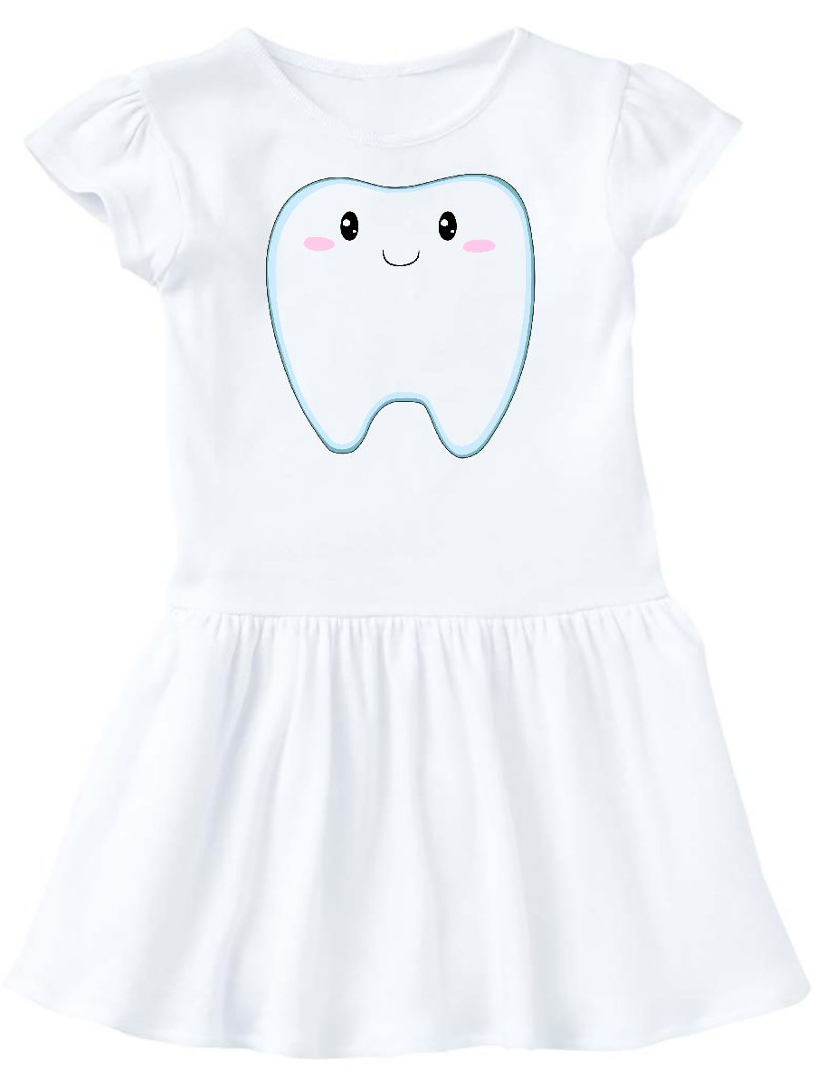 Cute Tooth Toddler Dress