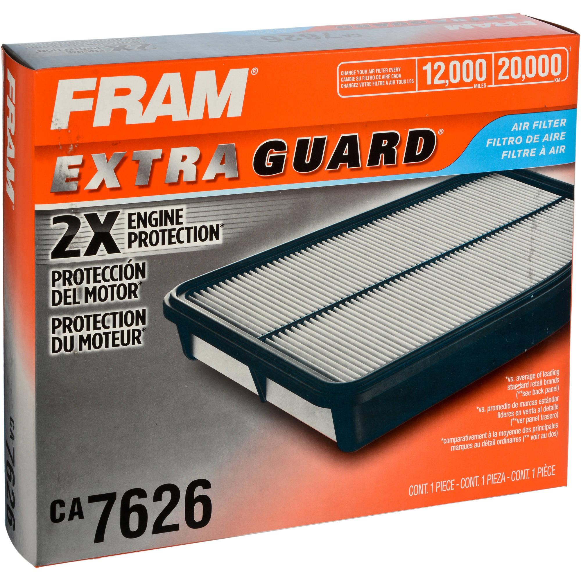 FRAM Extra Guard Air Filter, CA7626