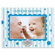 lawrence frames 430346 i love my grandpa horizontal picture frame, 4 by 6-inch