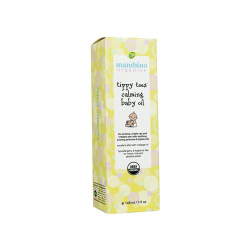 Mambino Organics Tippy Toes Organic Baby Oil - 5 fl oz