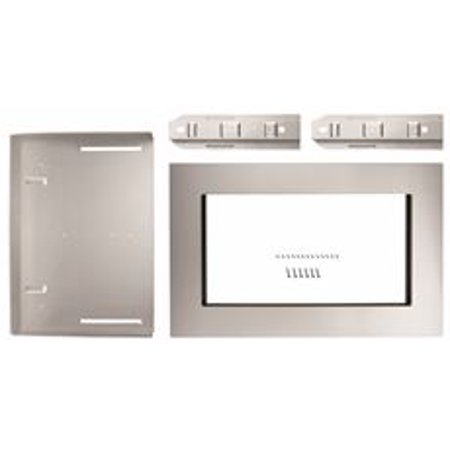 Whirlpool 1.6 Cu. Ft. Countertop Microwave Trim Kit, Stainless Steel, 30 In Optional Built-In Trim KitColor: Stainless Steel Model Number: Mk2160As Commercial Category: Microwave Oven Accessories Overall Height: 19.13 Overall Width: 29.75