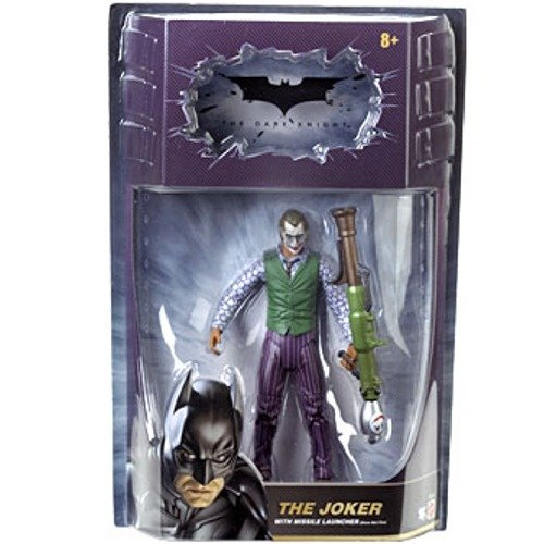 Dark Knight Movie Master Exclusive Deluxe Action Figure Joker with Missile Launcher,... by