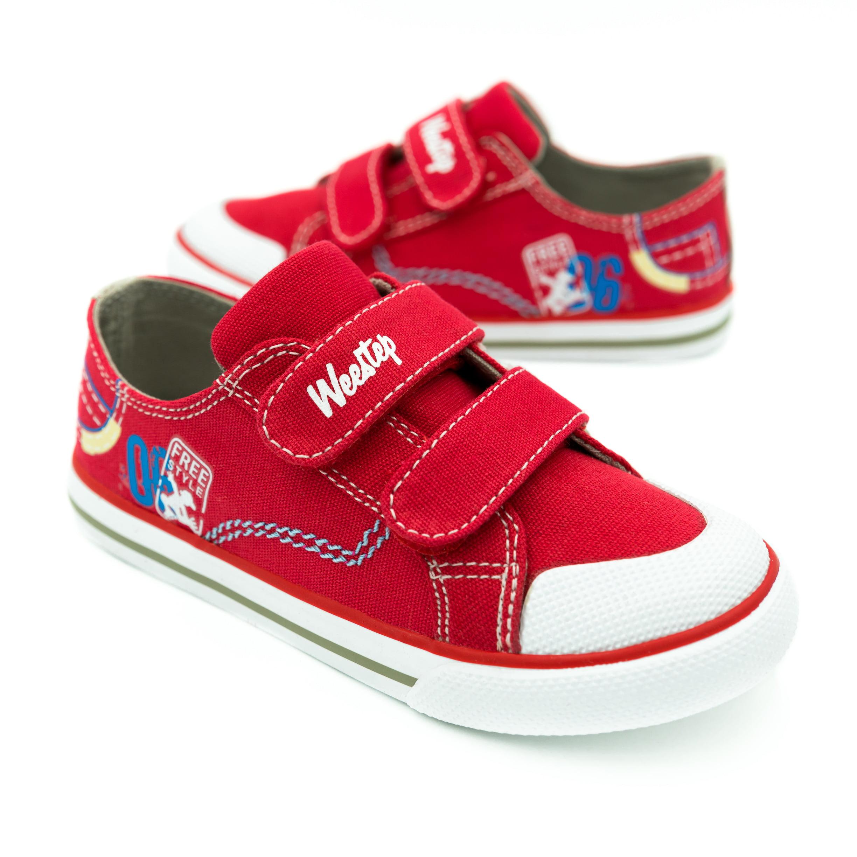 Weestep Toddler Little Kid Girl Boy Adjustable Straps Sneaker