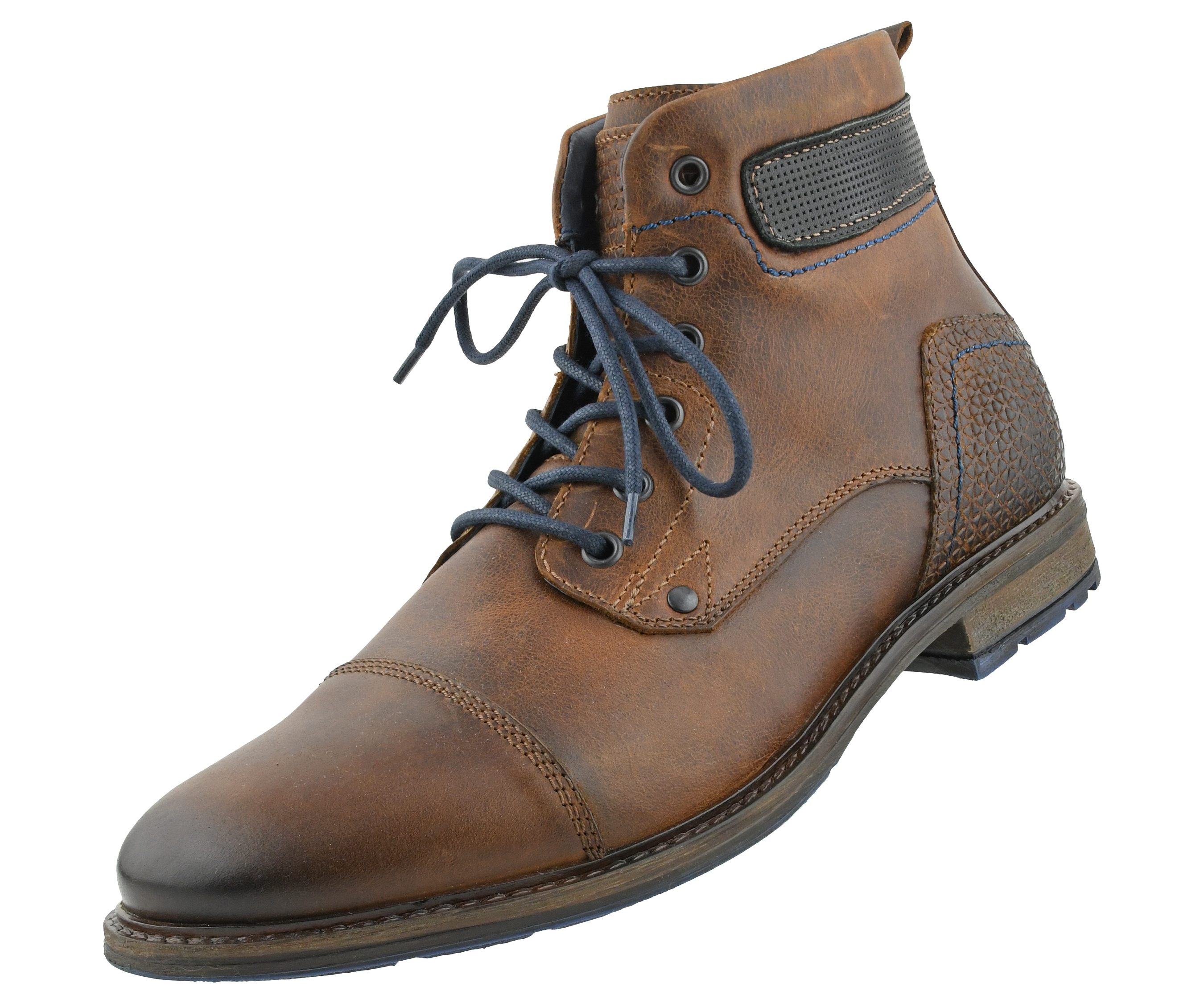 Asher Green - Asher Green AG8865 - Mens Work Boots, Motorcycle Boots,  Combat Boots - Casual Designer Boots for Men - Modern Cap Toe Lace-Up  Leather Boots - Walmart.com - Walmart.com
