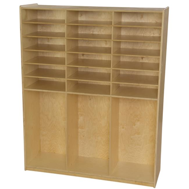 Wood Designs WD990343 Cubby Locker