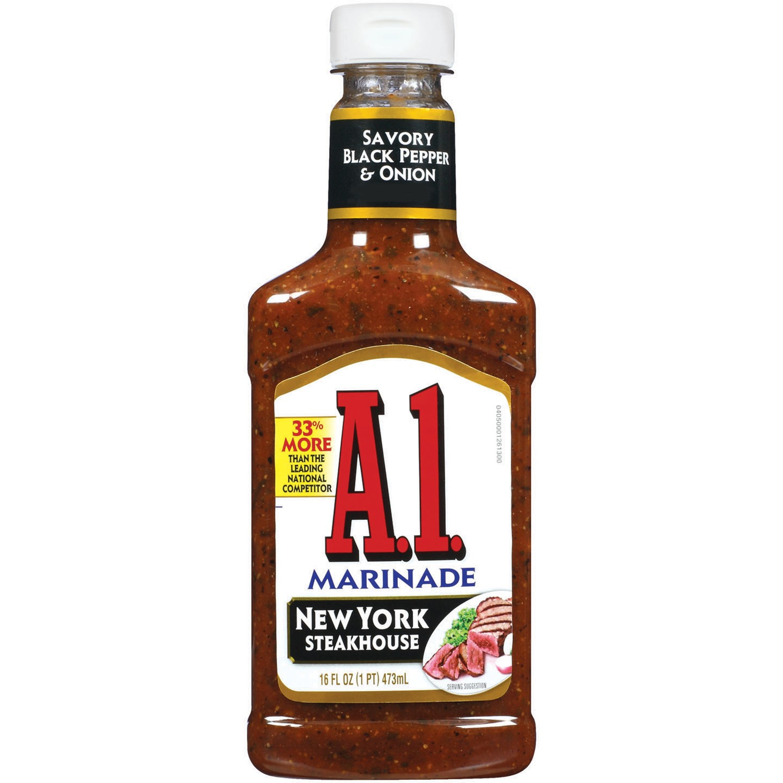 Image of A.1. Marinade New York Steak House, 16 fl oz, Bottle