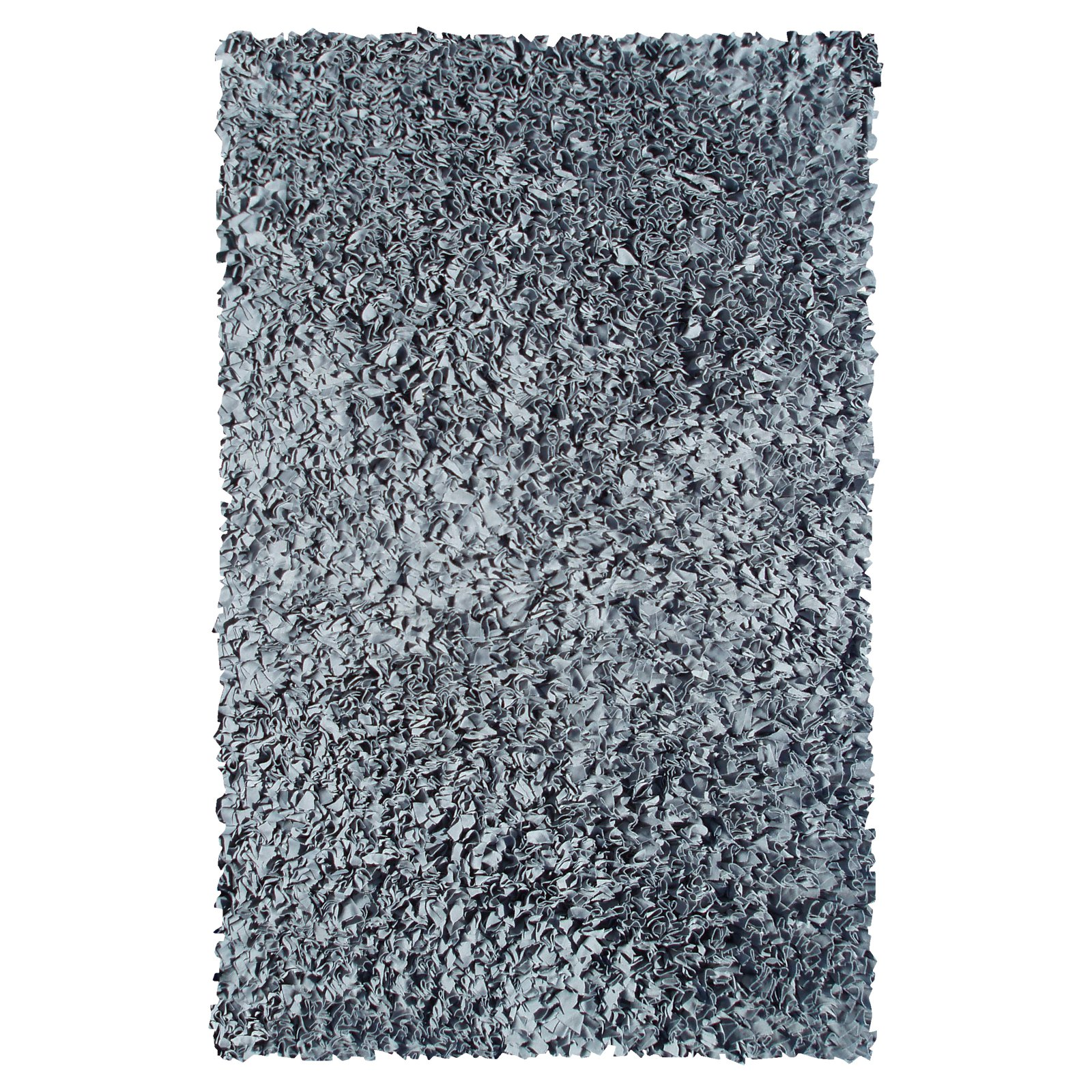 The Rug Market Shaggy Raggy Grey Size 2.8' x 4.8' Area Rug