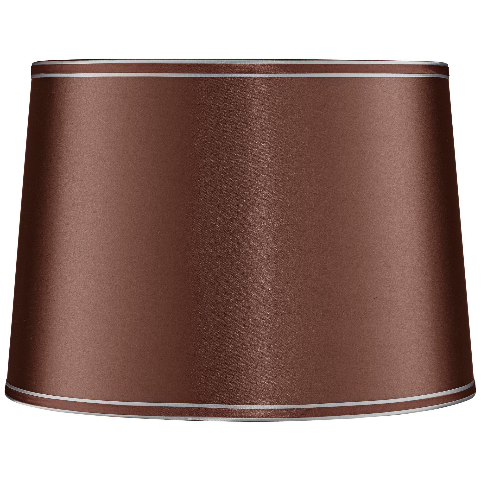 Springcrest Soft Brown Drum Lamp Shade 14x16x11 (Spider)