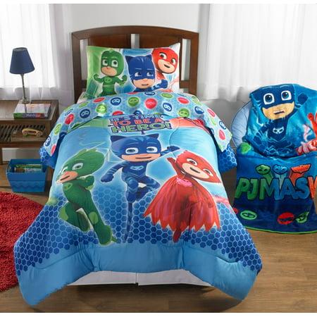 PJ Masks Bed in a Bag Bedding Set