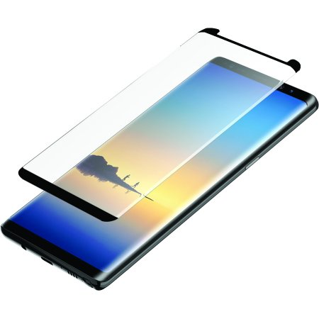 Blackweb Curved Impact Glass Screen Protector with Error-Free Installation Tray for Samsung Galaxy Note 8