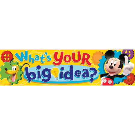 MICKEY MOUSE CLUBHOUSE WHATS YOUR BIG IDEA CLASSROOM - Classroom Themes Ideas