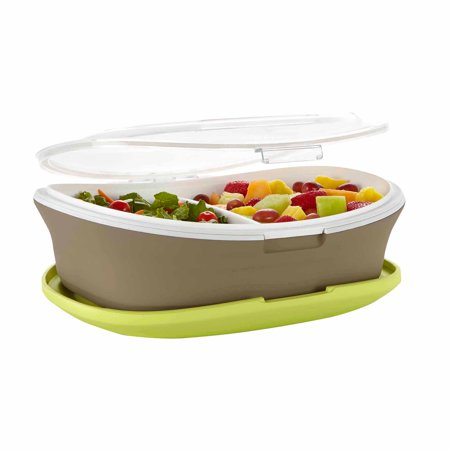Fit Fresh Gatherings Warm Chilled Insulated Serving Platter