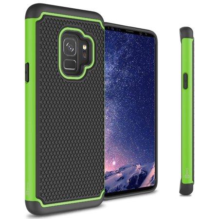 CoverON Samsung Galaxy S9 Case, HexaGuard Series Hard Phone Cover ()