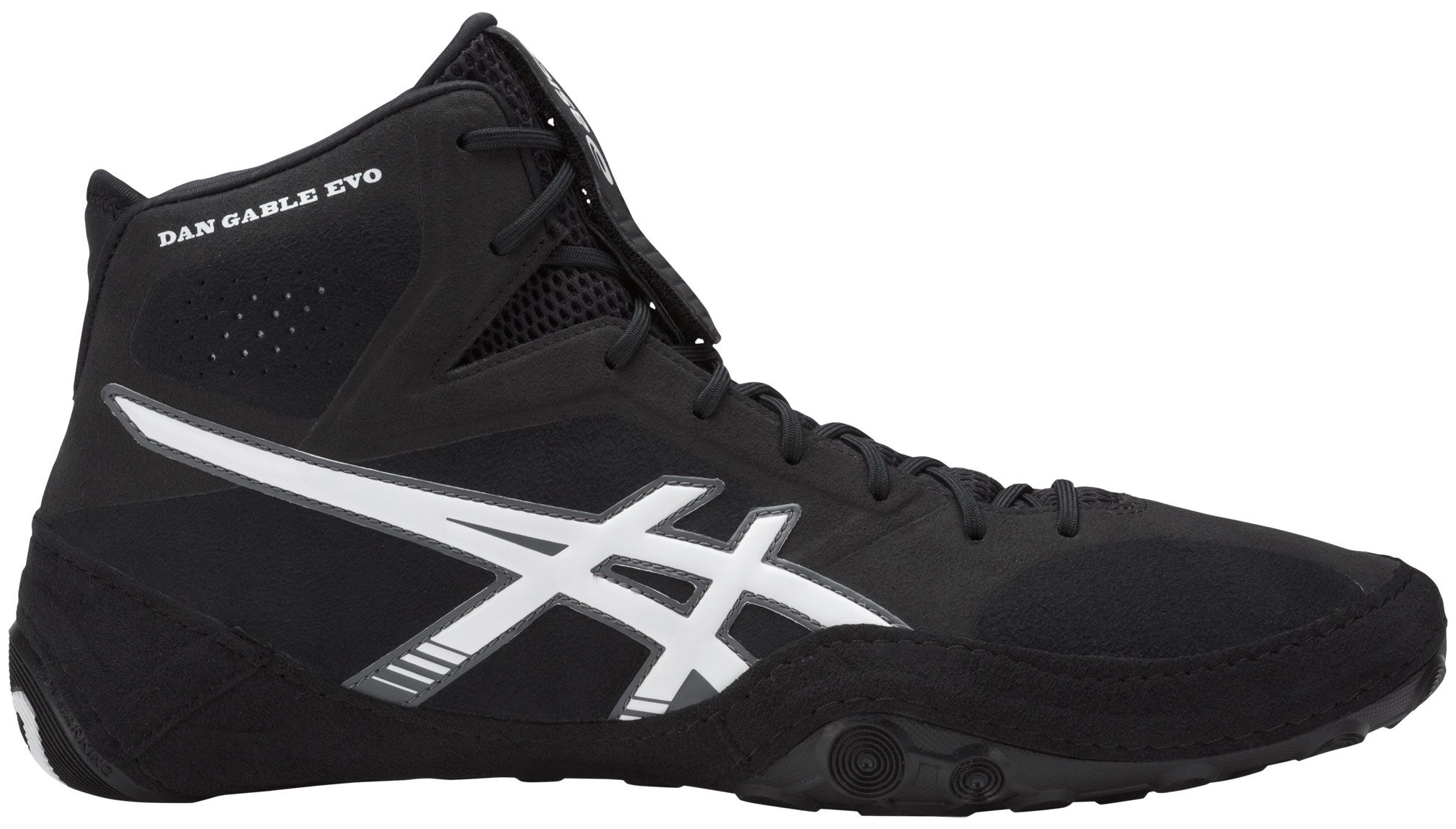 release date: 2db33 f4260 ASICS - ASICS Men s Dan Gable EVO Wrestling Shoes (Black White, 11.0) -  Walmart.com