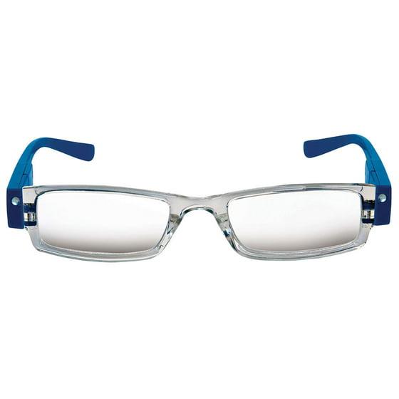 b768157b6da Women s Easylight Led Light Up Reading Glasses - Walmart.com