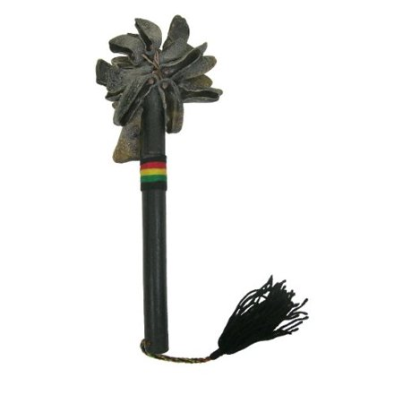 African Rattle (African Goat Toe Unas with stick - Recycled Rattle Shaker )