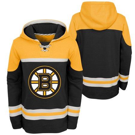 Outerstuff Youth Boston Bruins NHL Asset Hockey Hoodie