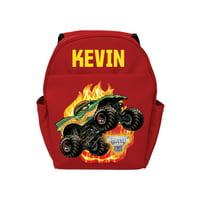 Back to School Monster Jam Dragon Red Toddler Backpack