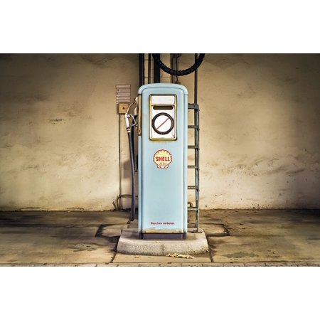 Laminated Poster Fuel Petrol Gas Pump Refuel Gas Petrol Stations Poster Print 24 X 36