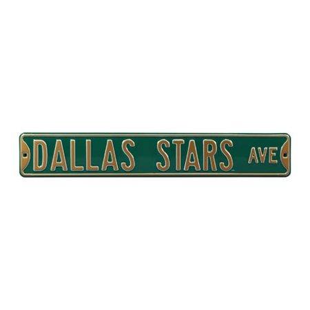 Dallas Stars Ave Street Sign - Park Ave Dallas Halloween