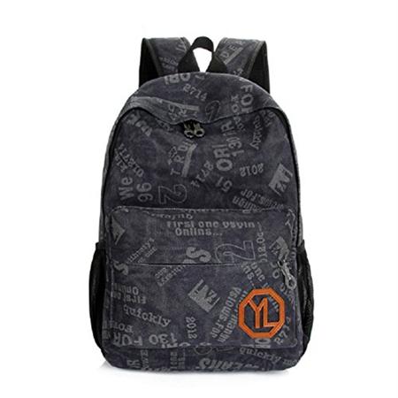 urmiss fashion personalized graffiti casual canvas shoulder backpack