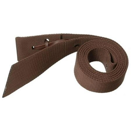 Royal King Nylon Web Tie Strap, Brown, Heavy single ply premium nylon tie strap By Tough (Tough Nylon Web)