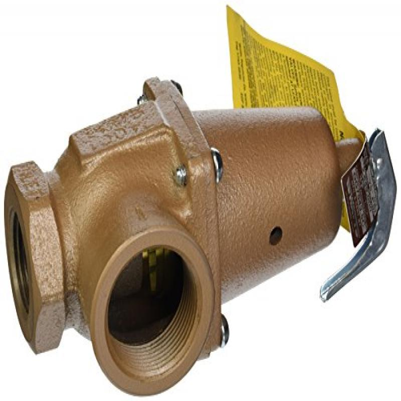 Pentair A0002700 75-PSI Pressure Relief Valve Replacement MT Commercial Pool and Spa Heater