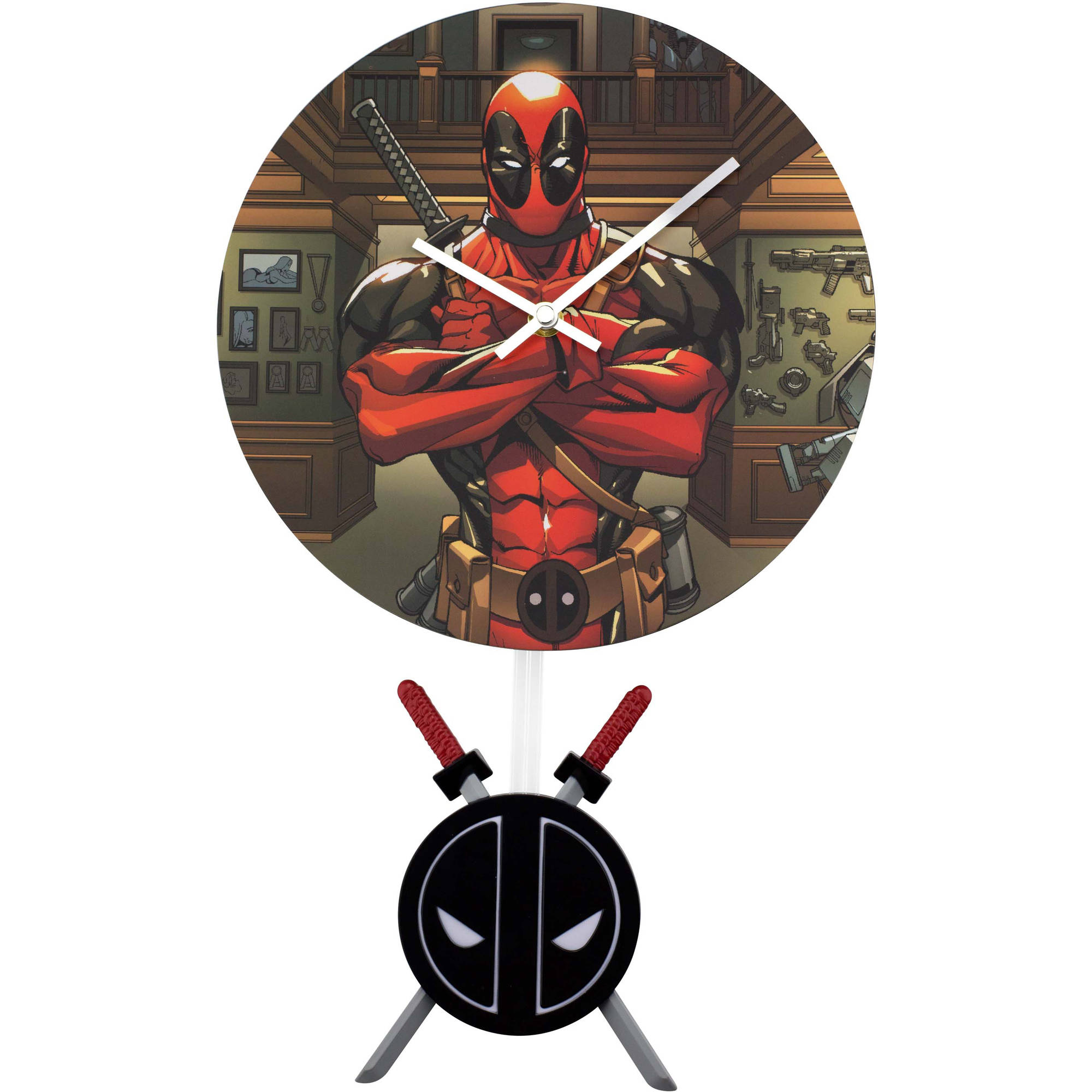 NJ Croce Deadpool Clock, CL 4658