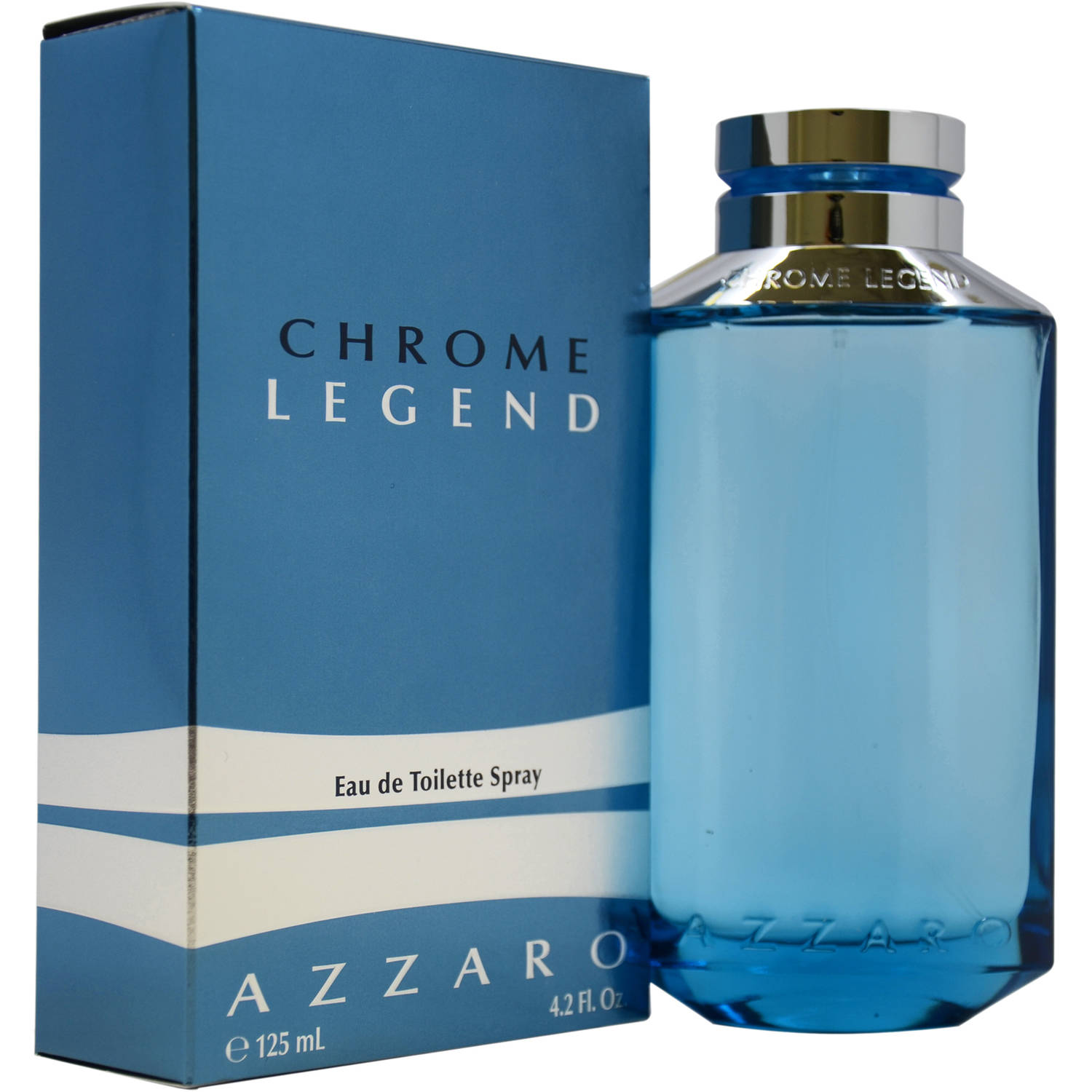 Azzaro Chrome Legend for Men Eau de Toilette Spray, 4.2 fl oz