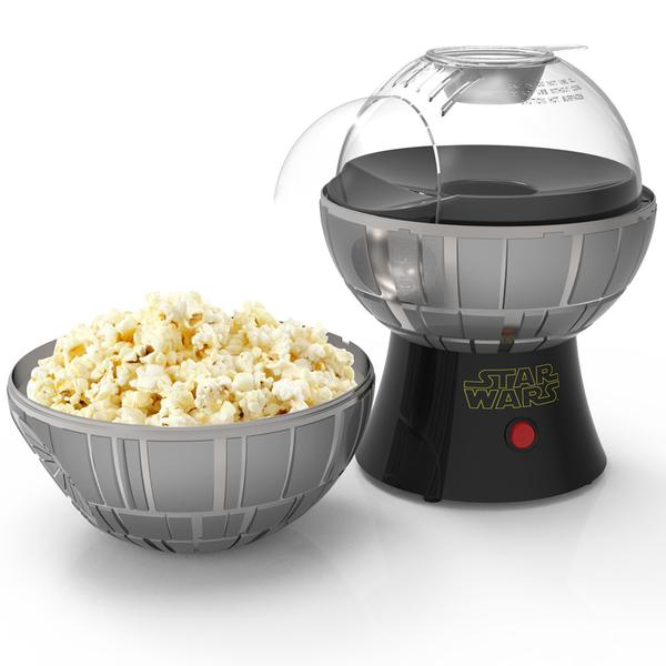 Star Wars Death Star Popcorn Maker Hot Air Style with Removable Bowl