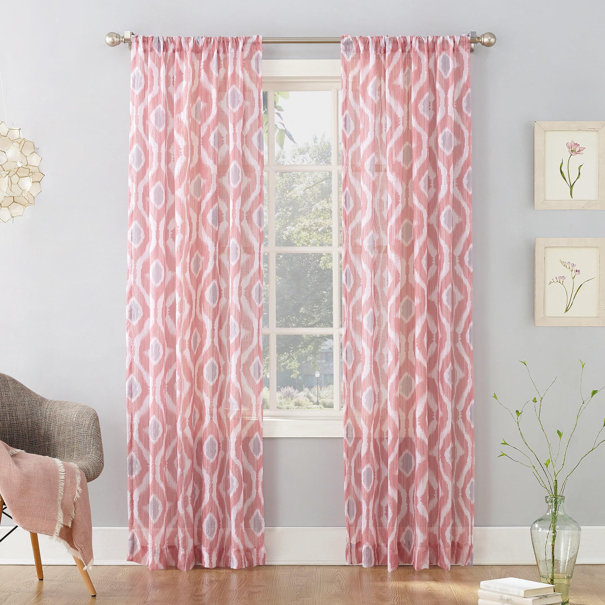 No. 918 Millennial Stella Stripe Sheer Curtain Panel