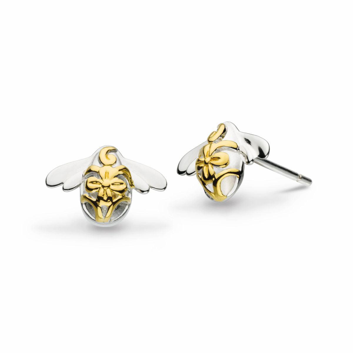 Pre order Bee Earrings 18K Gold