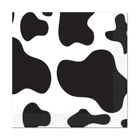 (Pack of 192) Cow Print Beverage Napkins for $<!---->
