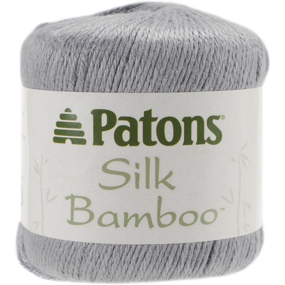 Patons Silk Bamboo Yarn-Ivory