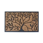 First Impression Handcrafted Molded Natural Brush Mat (1'6 x 2'4)