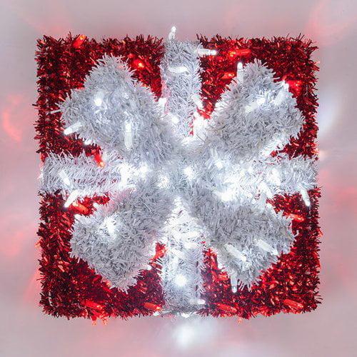 The Holiday Aisle Dimensional Christmas Gift Box Lighted Display