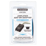 Scosche Loc2slsd 2-Channel Adjustable Amplifier Black with Color Coded Wires