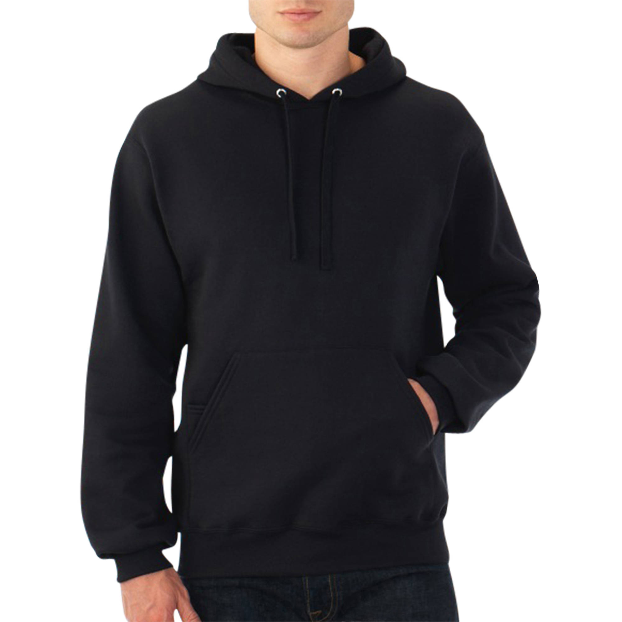 Fruit of the Loom Men's Fleece Pullover Hoodie - Walmart.com