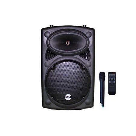 EMB - PK12 - RECHARGEABLE PORTABLE BLUETOOTH KARAOKE DJ 1400W BOOM BOX! 12